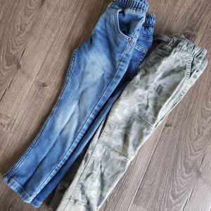 2 pairs of boys pants 4T